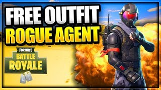 Fortnite: How To Get NEW ROGUE AGENT SKIN For *FREE* Free Fortnite Battle Royale Skins tutorial