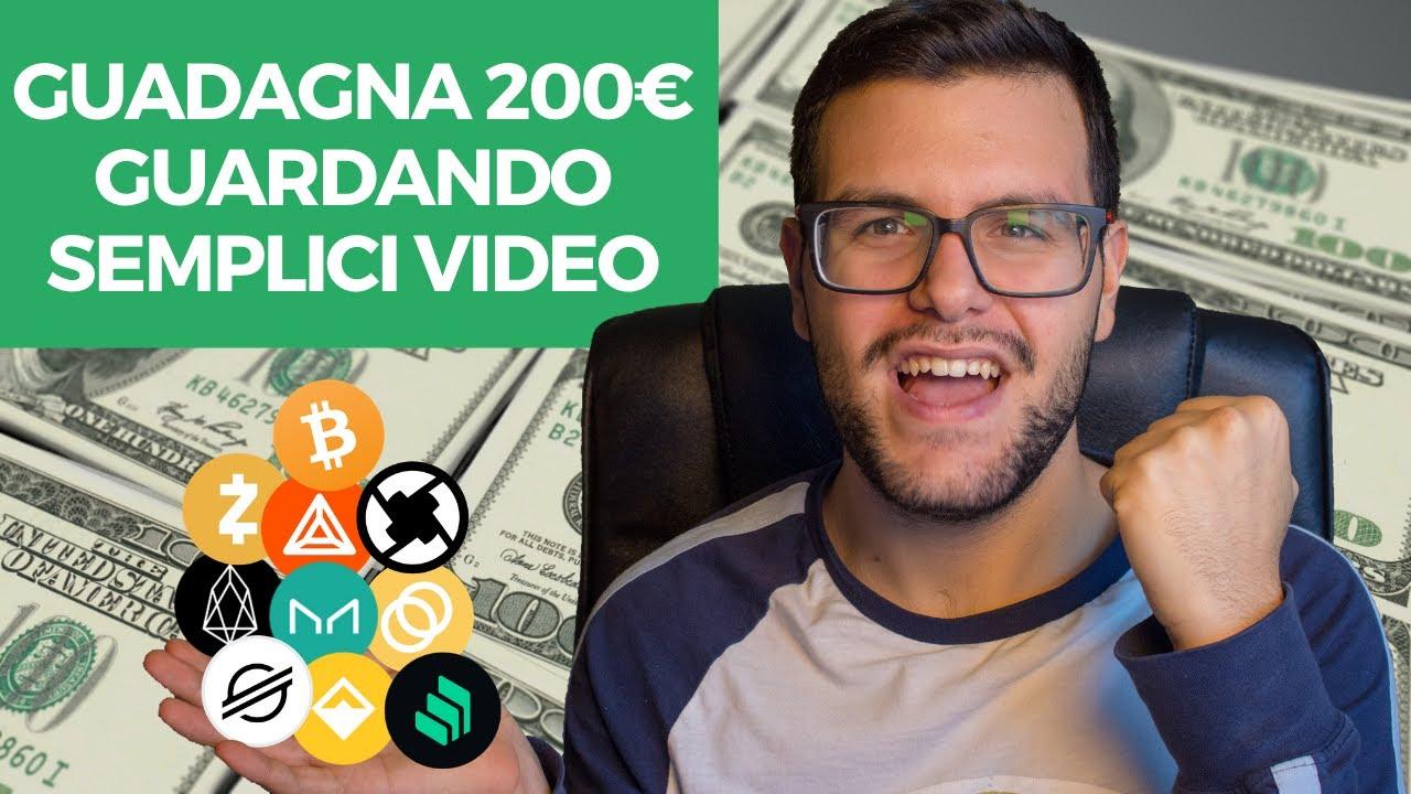 guadagnare crypto guardando video miglior piattaforma per scambiare bitcoin in nigeria