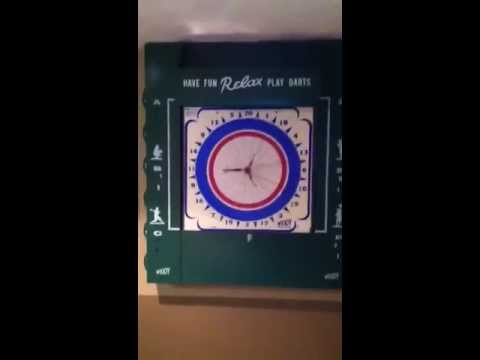 How to cover a breaker / panel box with a Widdy Dart Board - YouTube