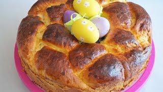 ПАСХАЛЬНЫЙ ВЕНОК/uskrsnja pogaca/Easter bread cake