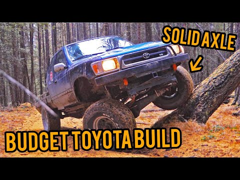 Toyota Solid Axle Swap Build! *BUDGET*