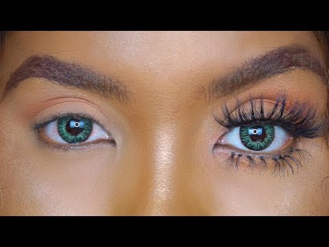 8a466fbe4de HOW TO APPLY FALSE EYELASHES FOR TOP AND LOWER LASHES + LED LASHES!!  BEGINNER FRIENDLY