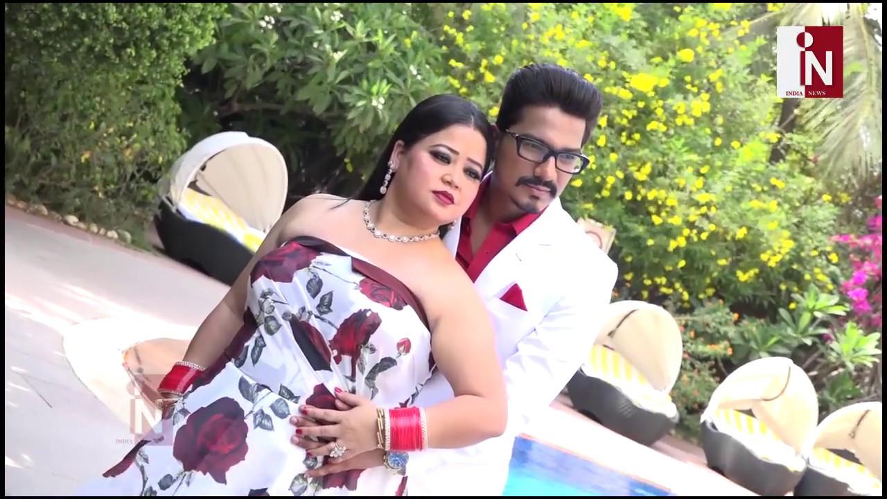Bharti Singh Post Wedding Photoshoot With Husband Harsh