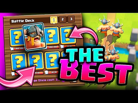 BEST ELITE BARBARIAN DECK • Clash Royale • NEW RECORD! 5200+