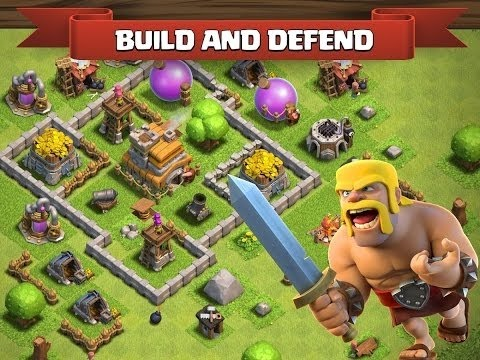 Clash of Clans - Building City Wall and Attacks - No cheats | ANGI G4MERS