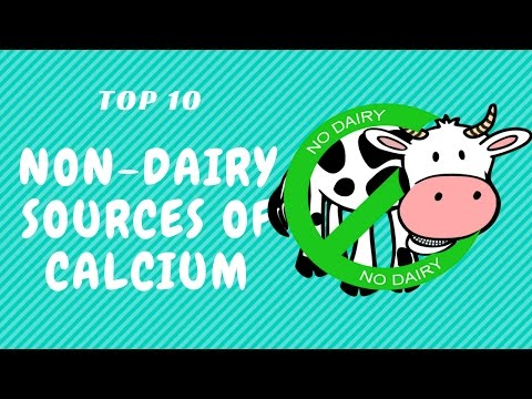 Top 10 Non Dairy Sources of Calcium