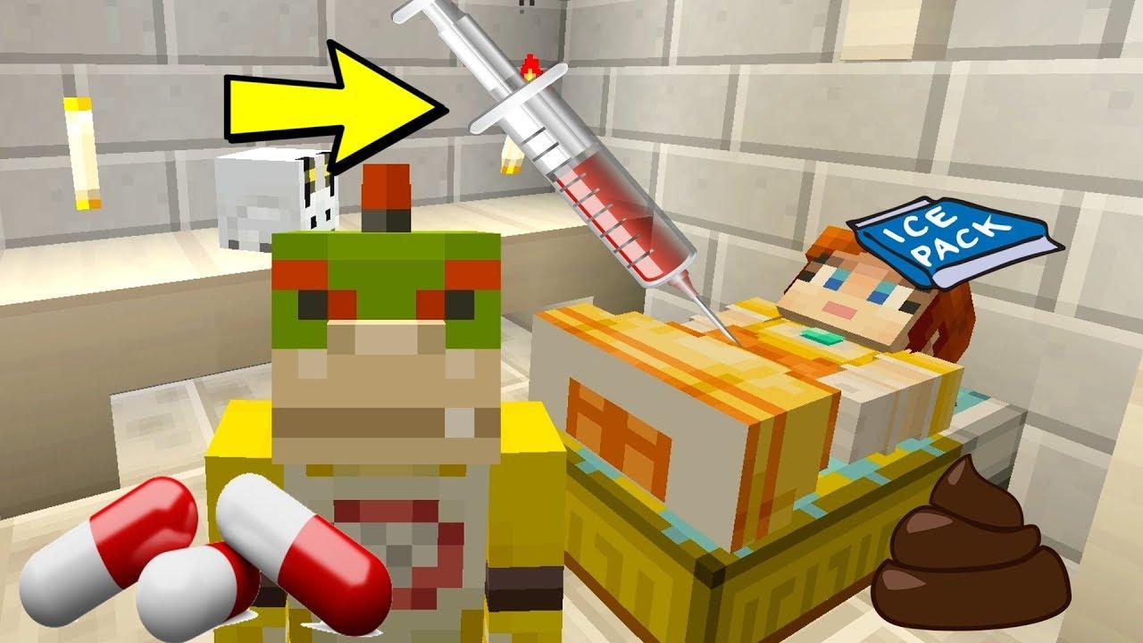 Minecraft Switch Nintendo Fun House BOWSER JR SAVES DAISY NEAR - Lego minecraft hauser