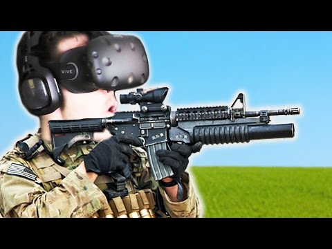 GUNS IN VIRTUAL REALITY! (Stupid VR)
