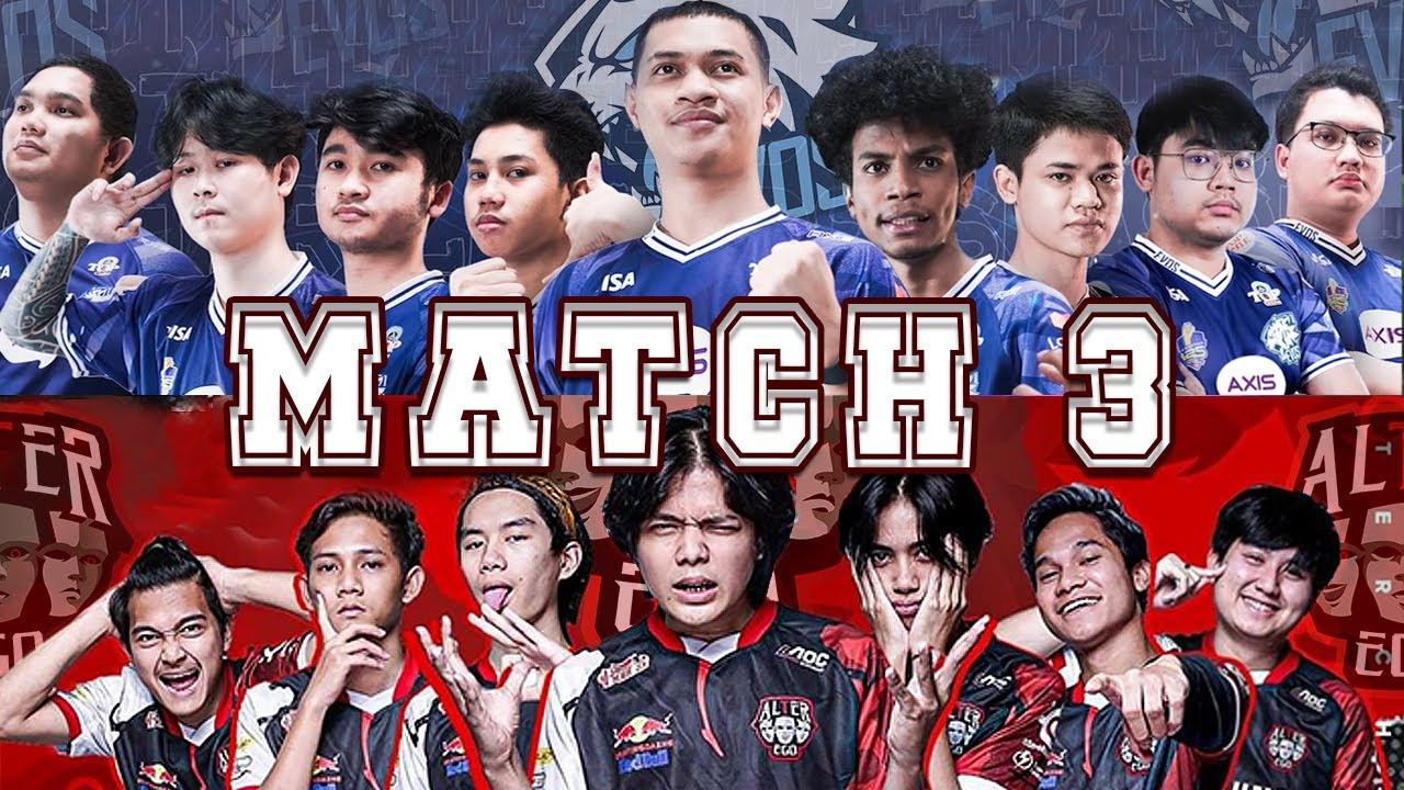 Haya Ferxic Too Strong! Match Penentuan EVOS Untuk Jadi Juara! - Match 3 EVOS vs AE