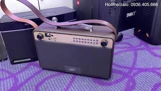 Loa Boxt Q9s hát thử karaoke rất đáng mua
