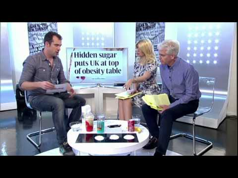 Holly And Phillipipl Chat To Dr Chris Van Tulleken About Sugar's In Food - This Morning