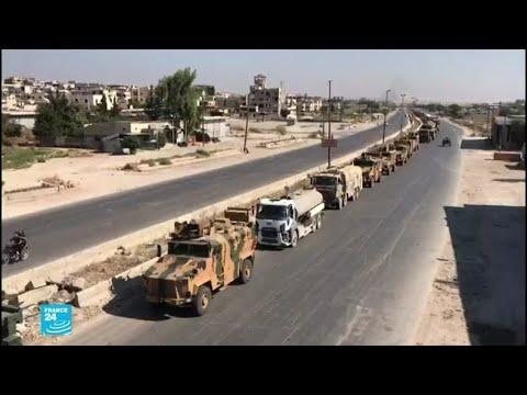 سوريا تندد باجتياز آليات عسكرية تركية أراضيها باتجاه خان شيخون  - نشر قبل 2 ساعة