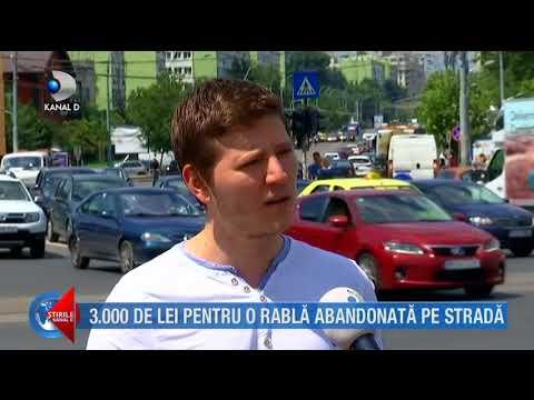 Stirile Kanal D (13.07.2018) - 3000 de lei pentru o rabla abandonata pe strada! Editie COMPLETA