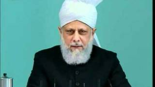 (English) Friday Sermon 8th April 2011, Companions of the Promised Messiah (on whom be peace)