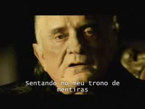 Johnny Cash - Hurt  (Legendado)