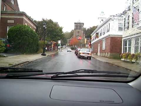 Leyden Street (1620): The Oldest Street in Plymouth, Massachusetts, USA...built by the Pilgrims