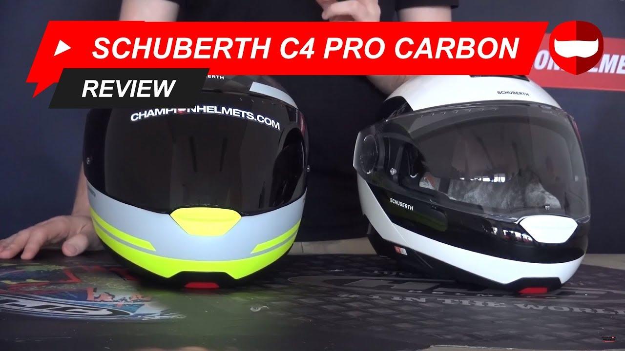 schuberth c4 pro carbon helmet review championhelmets. Black Bedroom Furniture Sets. Home Design Ideas