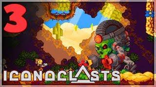 ICONOCLASTS [EP3] - ROYAL -  Gameplay Walkthrough - Indie Action Mega Man 🔥 Full HD