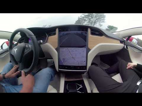 My Tesla Test Drive in 360