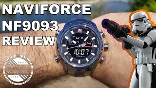 A Watch Fit For A Stormtrooper? | NaviForce NF9093 Watch Review