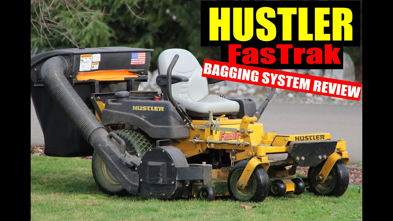 Well possible! hustler z mower chute me