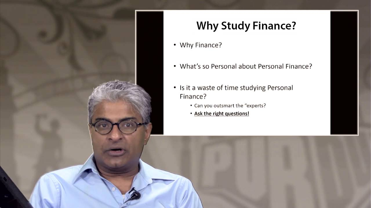 Personal Finance Planning | PurdueX