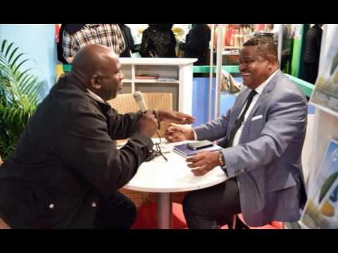 Franck LASSERRE au micro de Claude DANICAN - Guadeloupe 1er La Radio