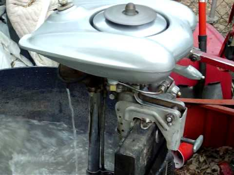 1938 waterwitch outboard youtube for Waterwitch outboard motor parts