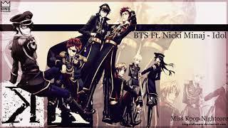Nightcore - Idol - BTS Ft. Nicki Minaj