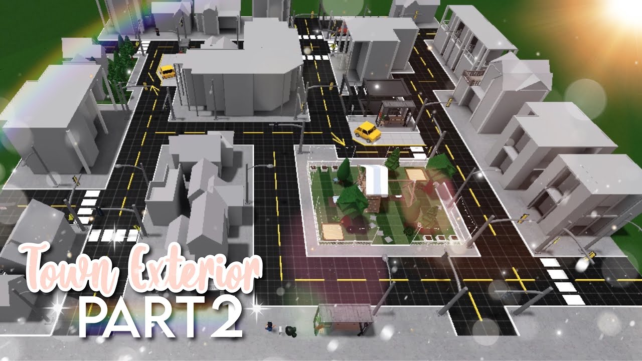 Town Exterior Ep 2 Roblox Youtube Top 5 cities in bloxburg. town exterior ep 2 roblox