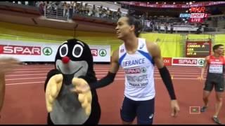 60м с/б Финал Мужчины - Чемпионат Европы в помещении - Прага 2015