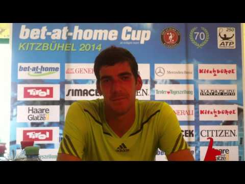 bet-at-home Cup Kitzbühel 2014: Interview mit Gerald Melzer
