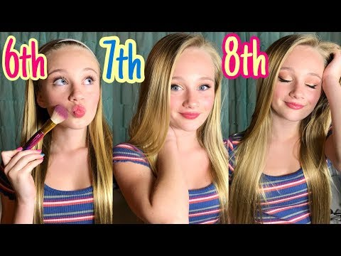 Middle School Makeup routine: 6TH 7TH & 8TH Grade| Back To School | Princess Ella