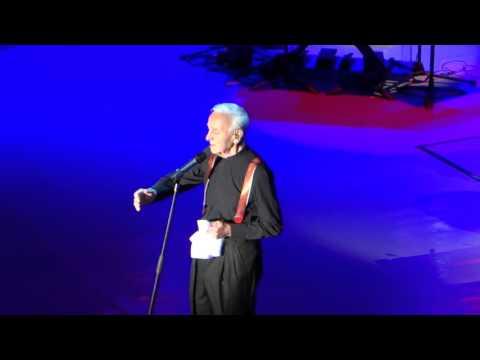 Charles Aznavour - La Boheme (28.04.2016)