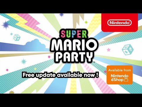 Time to take this party online! – Super Mario Party (Nintendo Switch)