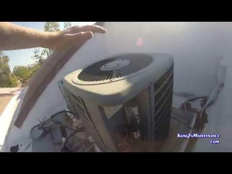 123 Degrees Palm Springs Heat Wave Air Conditioner Superheat Fan Cap Recap Repair One Of 123