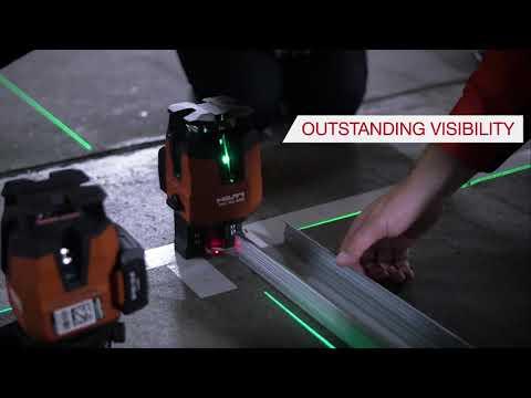Hilti PM 40-MG Green Laser