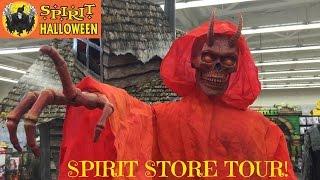 SPIRIT HALLOWEEN STORE ANIMATRONIC MONSTERS! thumbnail