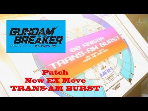 Gundam Breaker - Trans AM and Trans AM Burst