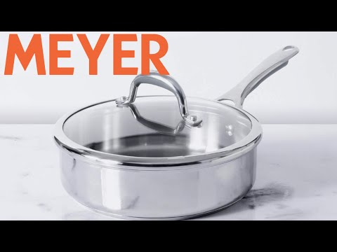 MEYER Stainless-Steel Pan / MEYER REVIEW / Cookware Haul /  #kitchenproductreview