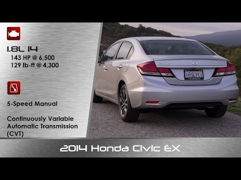 2014 2015 Honda Civic EX Review and Road Test