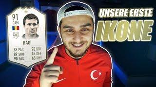 Fifa 19 | Unsere erste Icon | Prime Icon Hagi abgeschlossen | Türkische Liga🇹🇷 | Serkan Isak