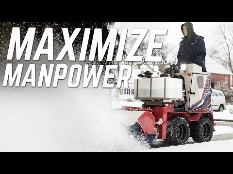 Professional Snow Business Invests in Sidewalk Snow Vehicles