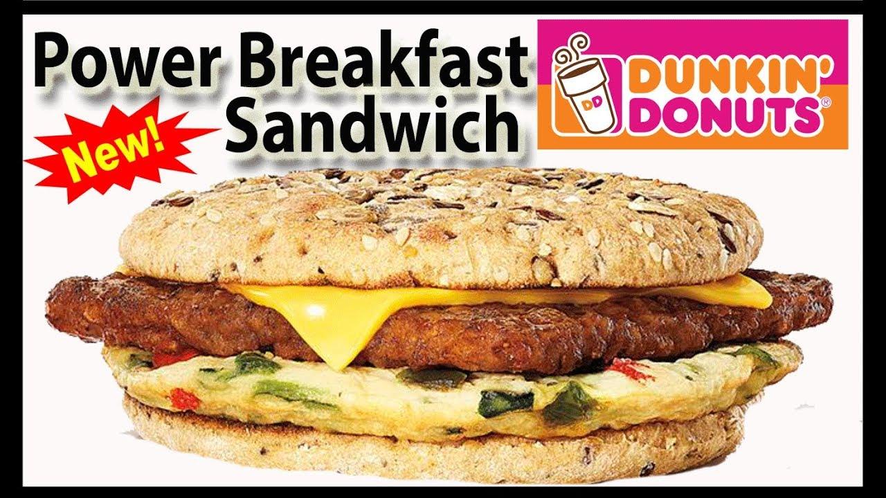Dunkin Donuts Breakfast Menu Nutrition   Besto Blog