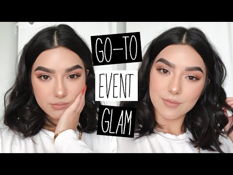 GRWM: MY GO-TO EVENT GLAM LOOK | Faye Claire