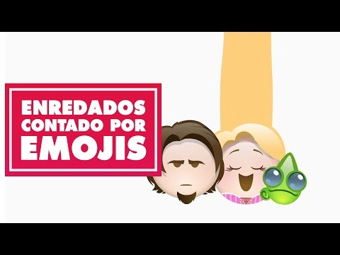 Enredados contada por emojis| Oh My Disney