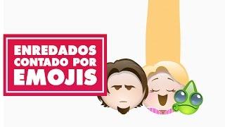 Enredados contada por emojis  | Oh My Disney
