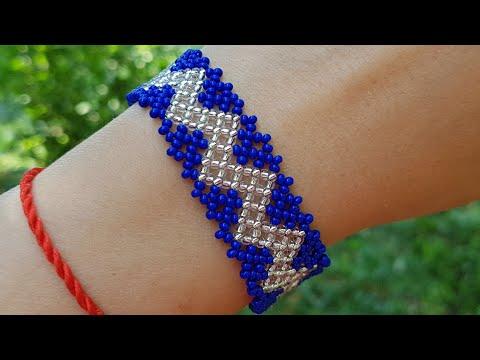 Beaded Bracelet/Diy Bracelet/Bracelet/Браслет из бисера/Браслет своими руками/Как сделать браслет