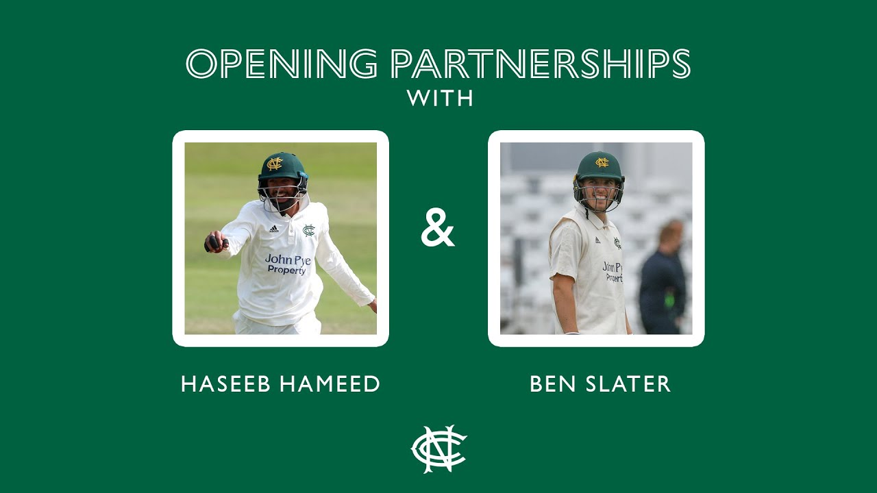 Hameed And Slater Discuss Opening Partnership