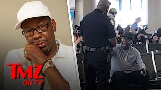 Bobby Brown Removed from JetBlue Flight, Cops Called and Plane Deboards | TMZ TV